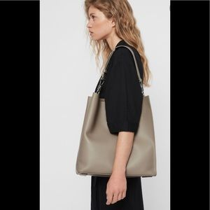 All Saints  Captain Lea Leather Bag